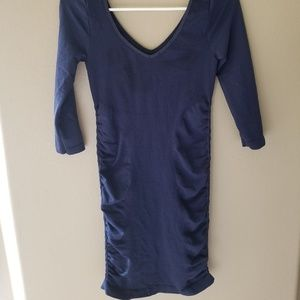 bebe Dresses - Navy blue bodycon dress